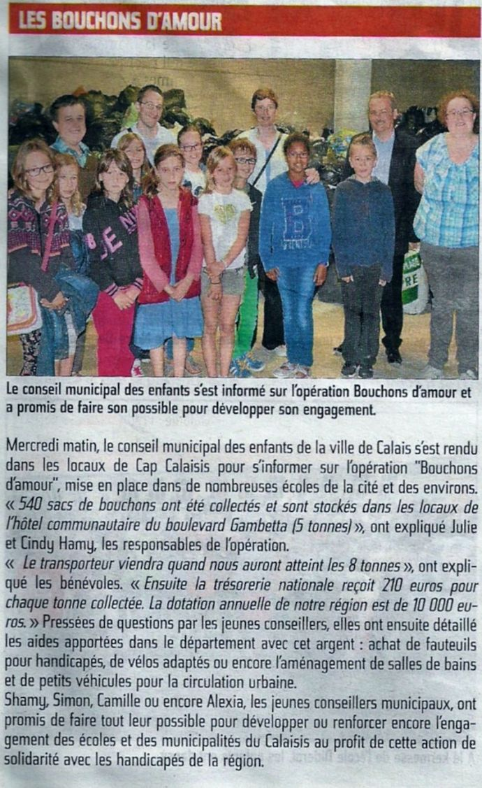 article nord littoral du 28 juin 2014