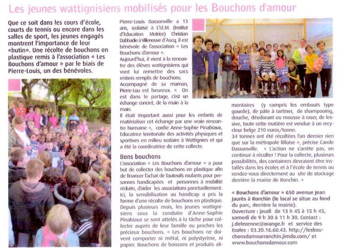 article journal wattignies