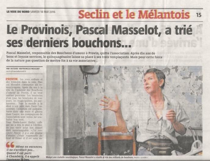 Voix du Nord Pascal Masselot 2016 05 14 Haut